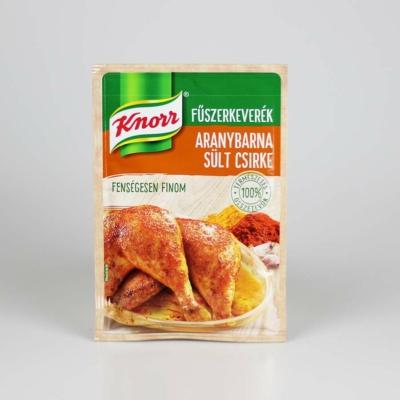 knor aranybarna sult csirke fuszerkeverek